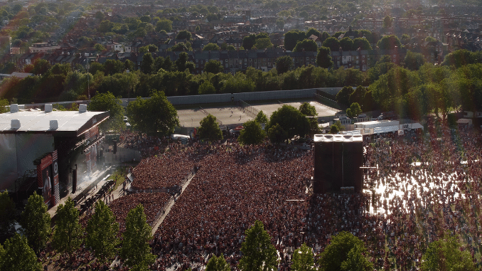 Images used with permission from Crowded Space Drones - The Crowd magazine