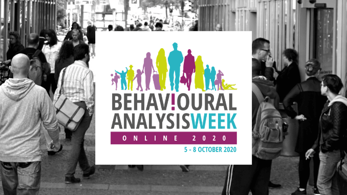 Behavioural Analysis goes online for 2020