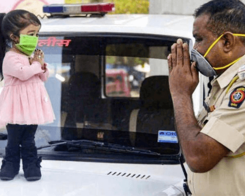 On The Frontline Indian Police Service